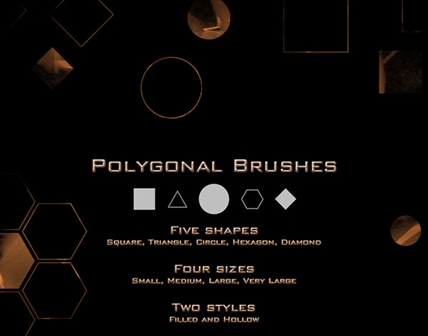 polygonal_brushes_set