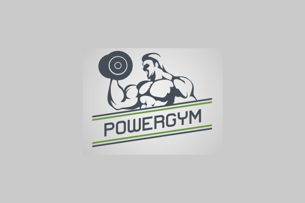 power gym logo design