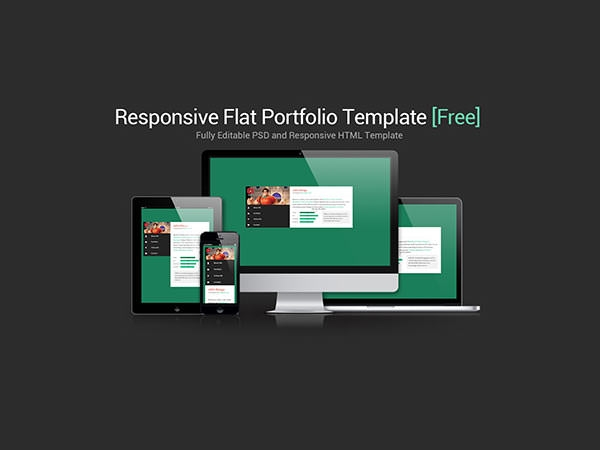 e portfolio templates free - 30 free portfolio psd template designs freecreatives