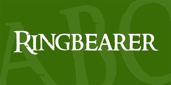 ringbearer-font
