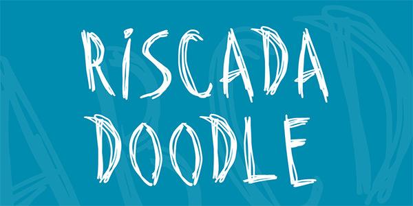riscada-doodle-font