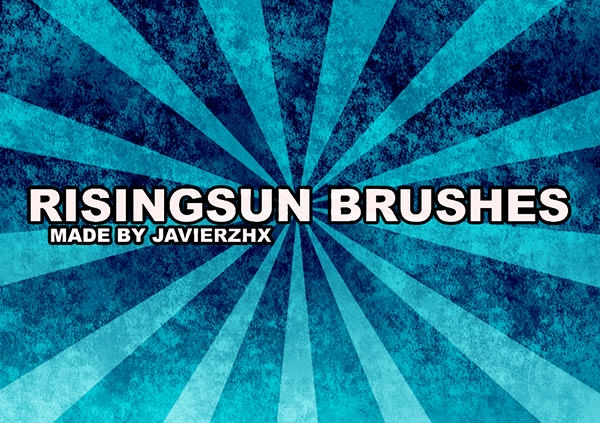 rising sun_brushes fro free