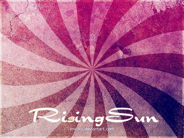rising sun_brushes