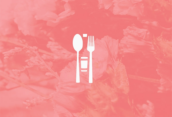 shades pink gala logo design