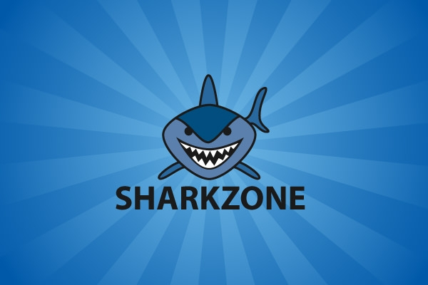 shark-zone-logo-design