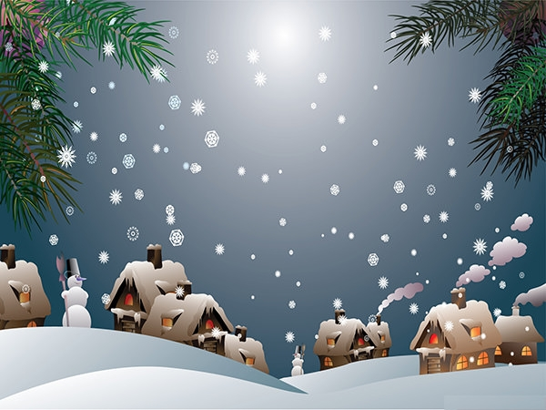 snowy-christmas-village--background