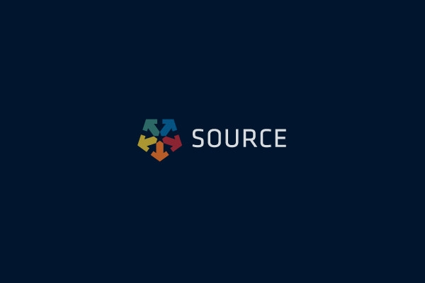 source logo for inspiration