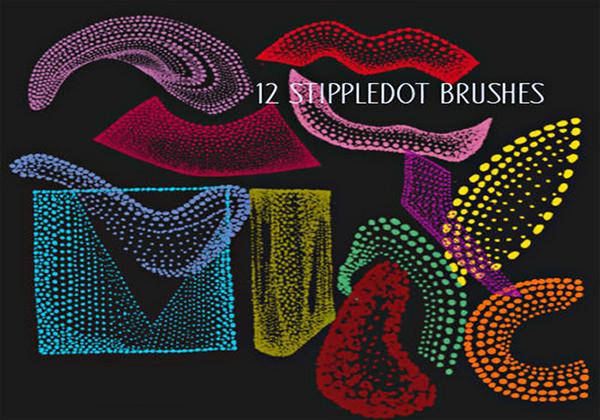 stippledot-doodle-brush-pack