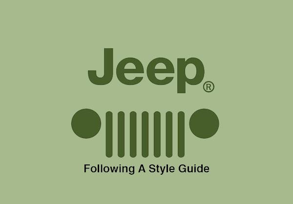 stylish jeep logo design