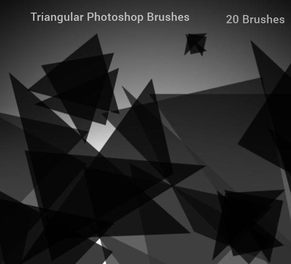 75+ Best Free Triangle Brushes For Photoshop | FreeCreatives
