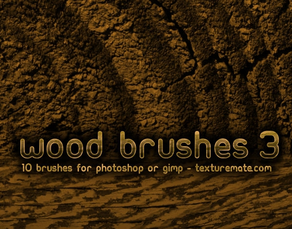 tree bark wood Brushes