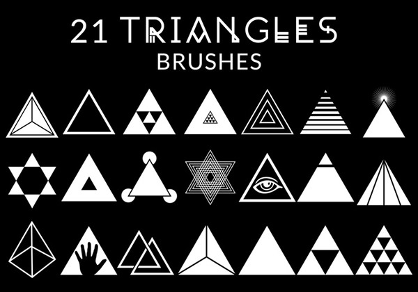 triangle-brushes
