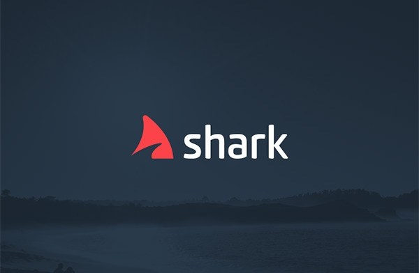 unique shark logo design
