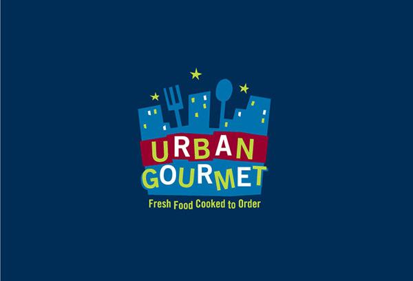 urban gourmet_ logo design