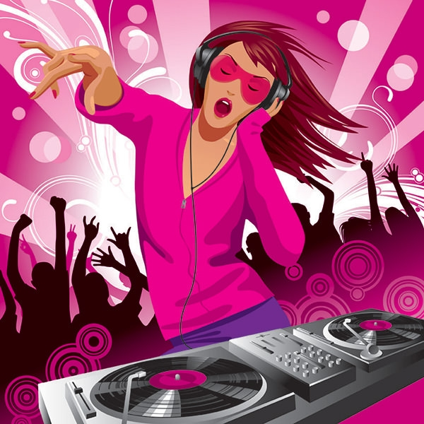 vectordj music graphic design