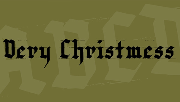 very-christmess-font-1-big