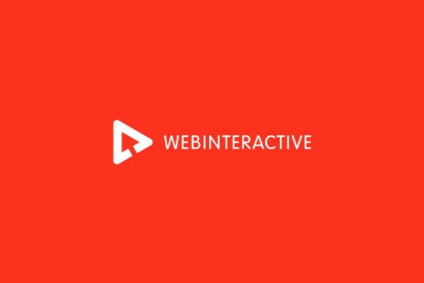 web interactive logo