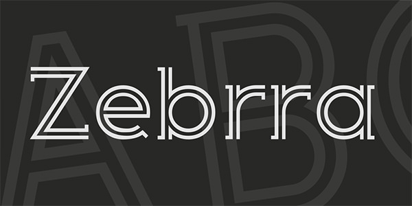 zebrra-font-