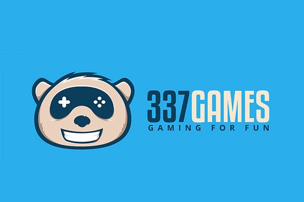 377 Panda Games Logo Design