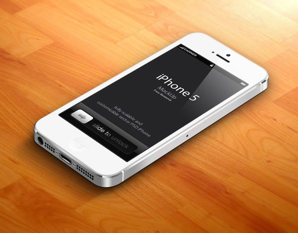 3D-iPhone-5-Psd-Vector-Mockup
