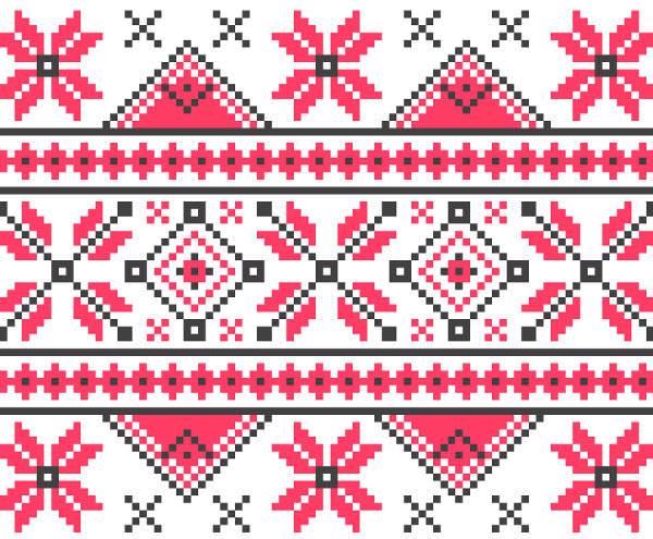 Abstract Knitting Pattern