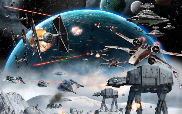 Amazing Star Wars Galaxy Wallpaper