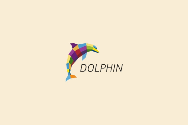 Awesome Dolphin Logo Design