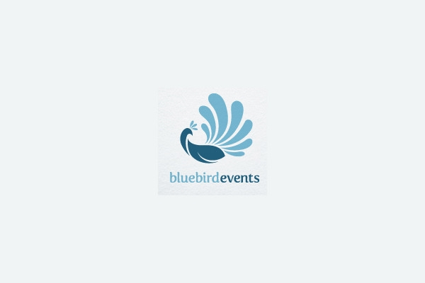 Blue Bird Events Logo Design