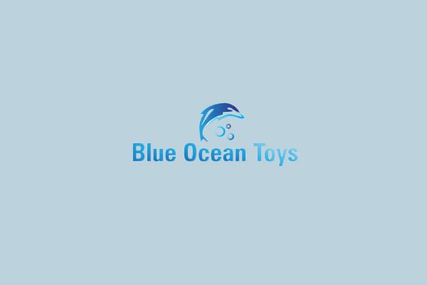 blue ocean toys logo design