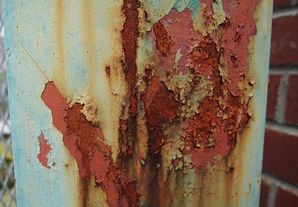 Bright Rusty Metal High Res Textures