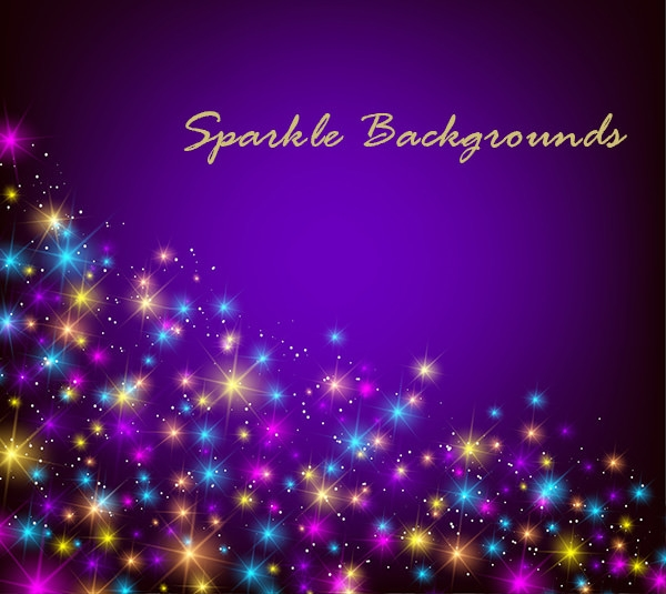 Colorful Sparkle Background