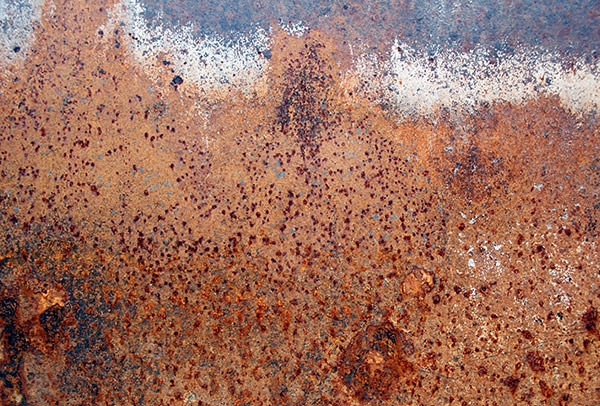 Corroded Rusty Metal Background Texture