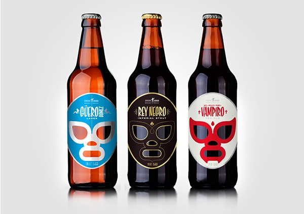 20+ Creative Beer Label & Logo Designs | Freecreatives