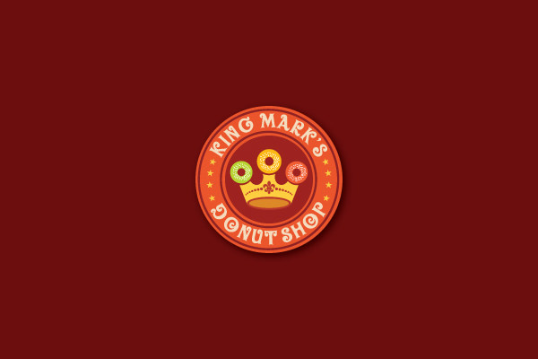 Creative Logo Design for Donut Shop