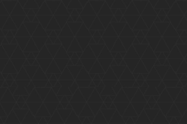 Dark Geometric Pattern