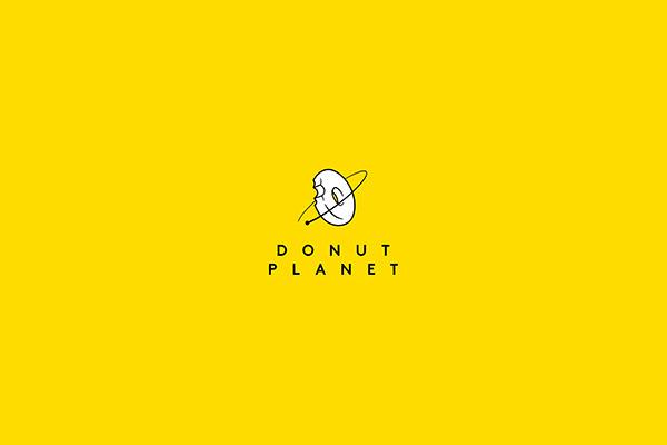 donut planet logo