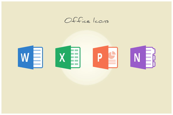 Download Office Icons for Free