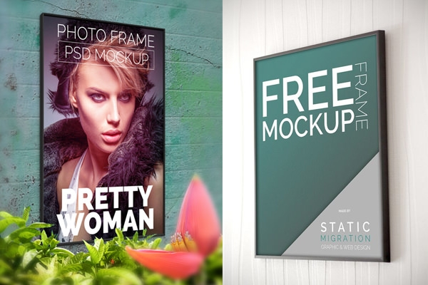Download awesome Picture Frame Mockups