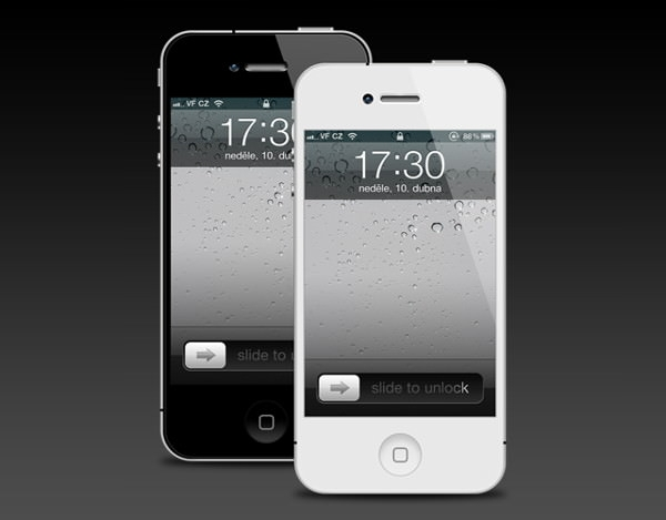 Editable Layers Free iPhone 4 Mockup