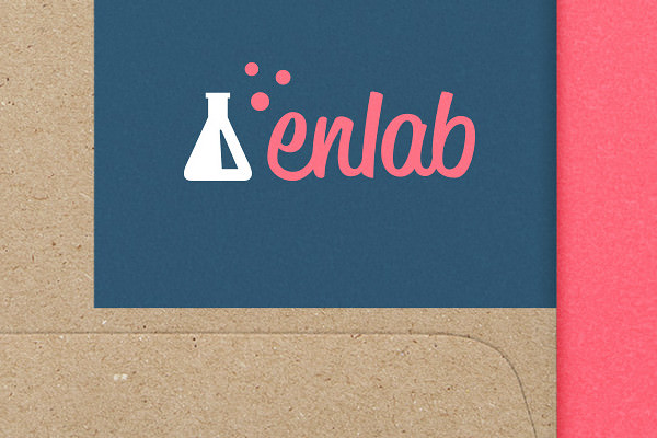 Flask Logo Design for Laboratories