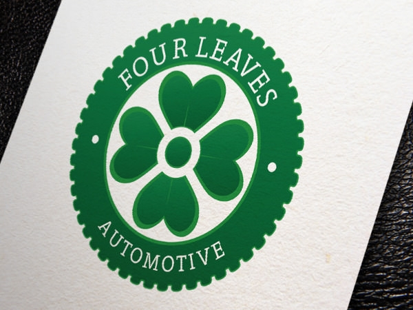 Four Leaves Automative Logo