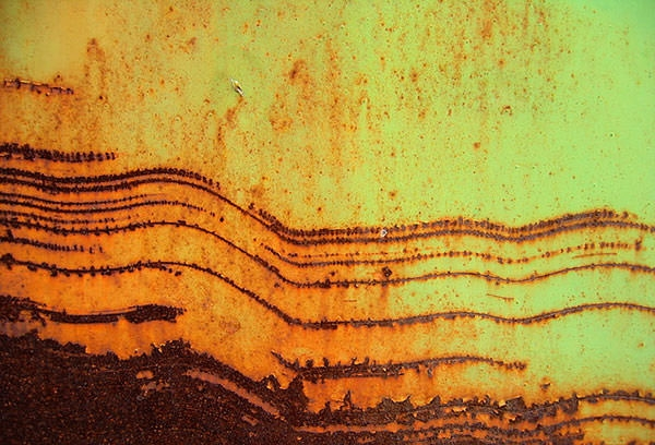 Free Red and yellow Metal Texture