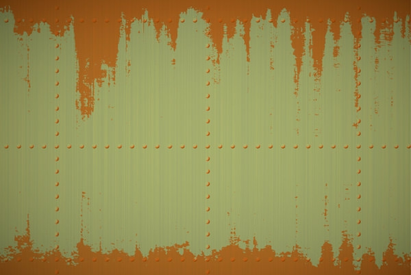 Free Rusty Effected Texture on Metal Background