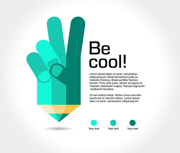 Free Vector Pencil Illustration for Poster Design