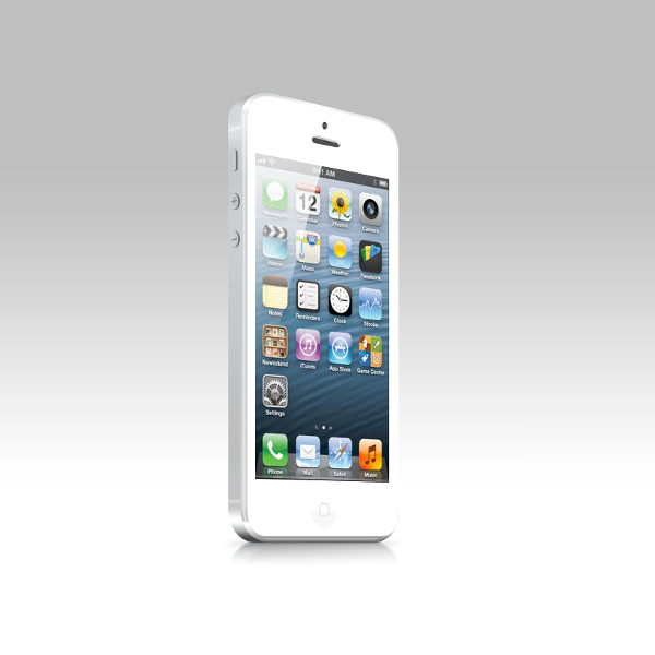 Fully Editable iPhone 5 Mockup