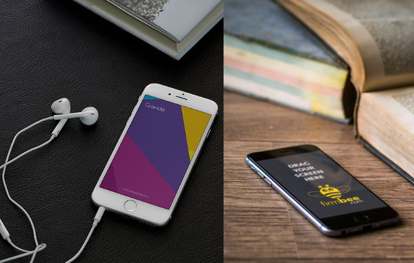 Fully Editable iphone 6s Mockups