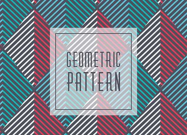Geometric Lined Pattern