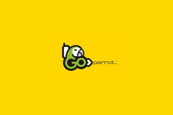 Go Parrot Logo Design