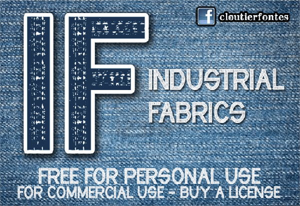 Industrial Fabrics Font