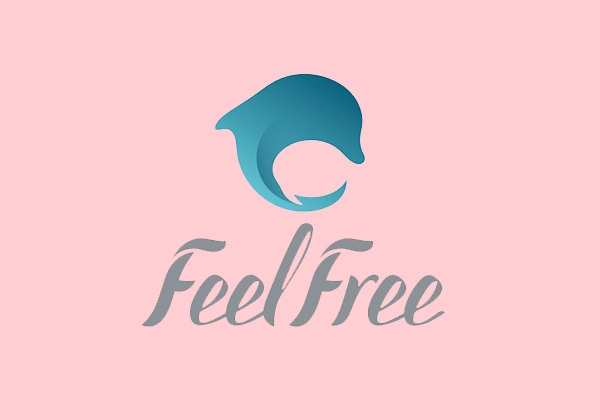 inspirational dolphin logo design